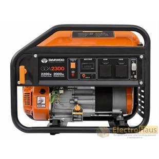 Бензиновый электрогенератор Daewoo GDA 2300